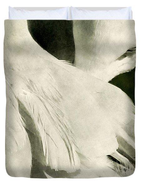 Flock Duvet Cover by Andrew Paranavitana