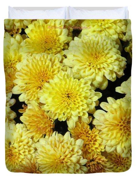 Floral Carpet Duvet Cover by Sonali Gangane