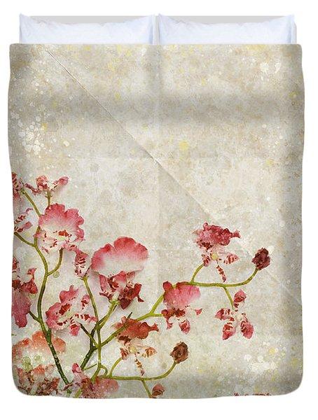 Floral Pattern Duvet Cover by Setsiri Silapasuwanchai