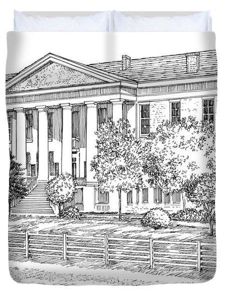 Florida Capitol 1847 Duvet Cover