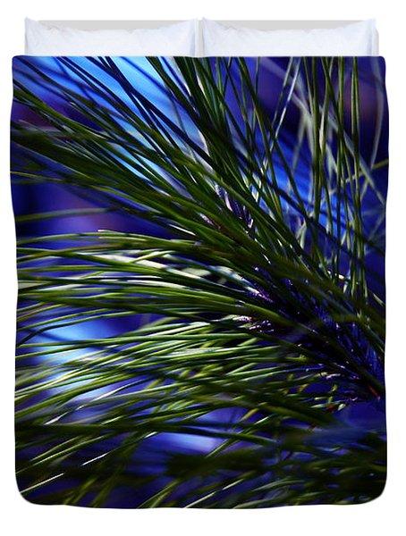Florida Grass Duvet Cover