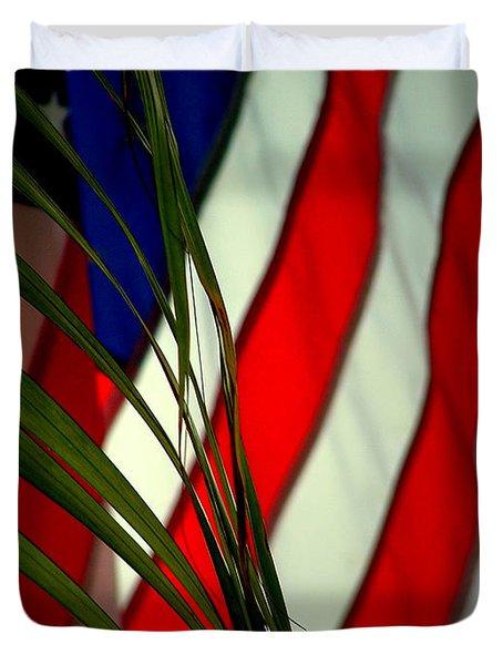 Floridamerica Duvet Cover