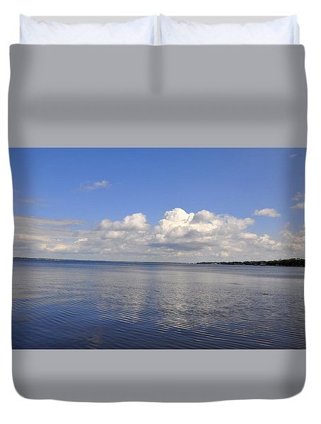 Floridian View Duvet Cover