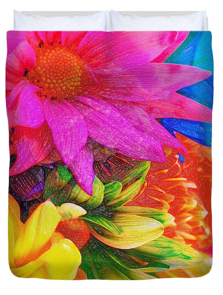 Flower Box Duvet Cover by Empty Wall