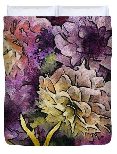 Flower Power Duvet Cover by Trish Tritz