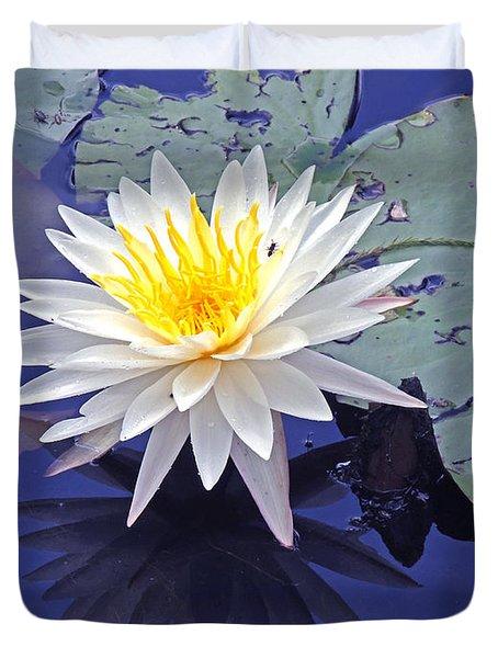 Flowering Lily-pad- St Marks Fl Duvet Cover