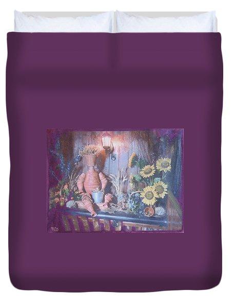 Flowerpotman Duvet Cover