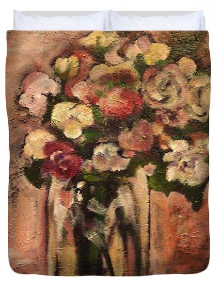 Flowers For Mom Duvet Cover