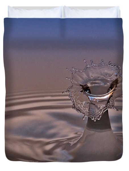 Fluid Flower Duvet Cover by Susan Candelario