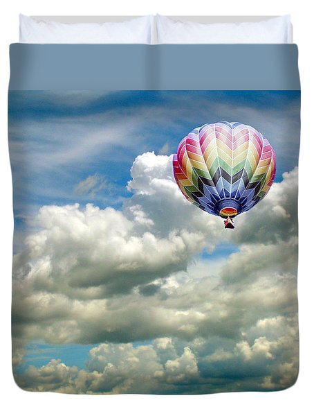 Flying High Duvet Cover by Bonnie Muir