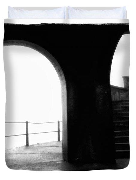 Foggy Day H-1b Duvet Cover by Mauro Celotti