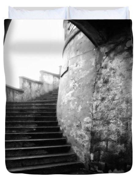 Foggy Day V-1 Duvet Cover by Mauro Celotti