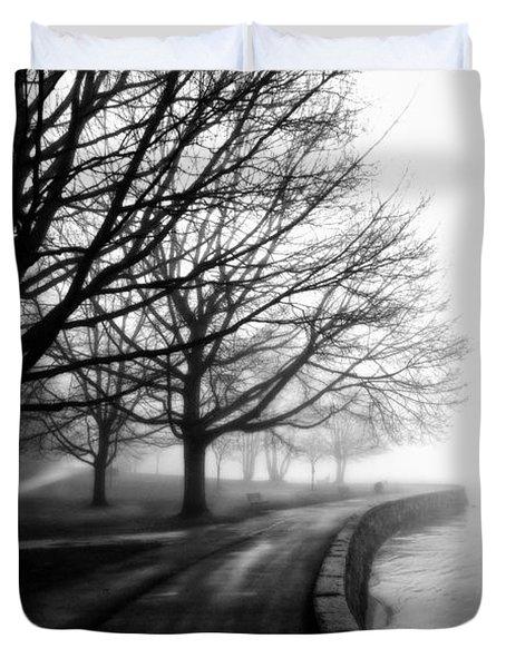Foggy Day V-5 Duvet Cover by Mauro Celotti