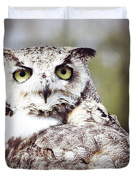 Followed Owl Duvet Cover by Empty Wall