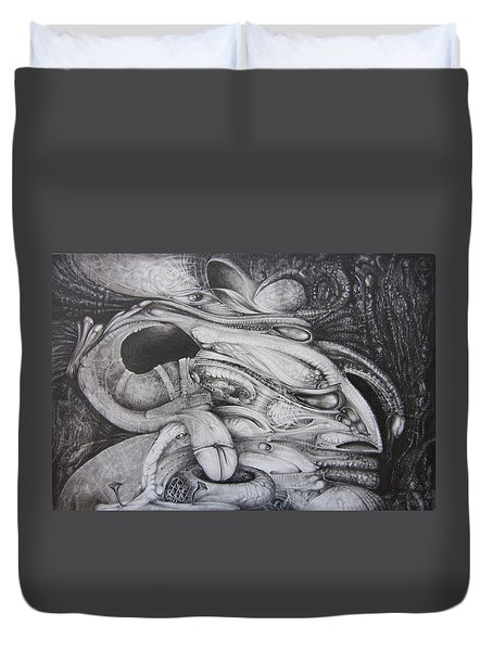 Fomorii General Duvet Cover by Otto Rapp