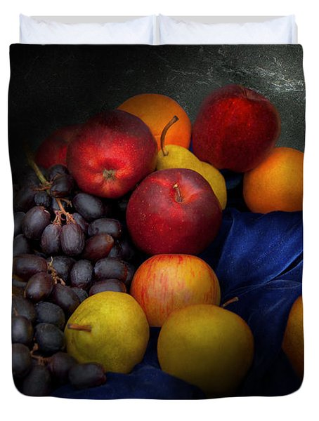 Food - Fruit - Fruit Still Life  Duvet Cover by Mike Savad