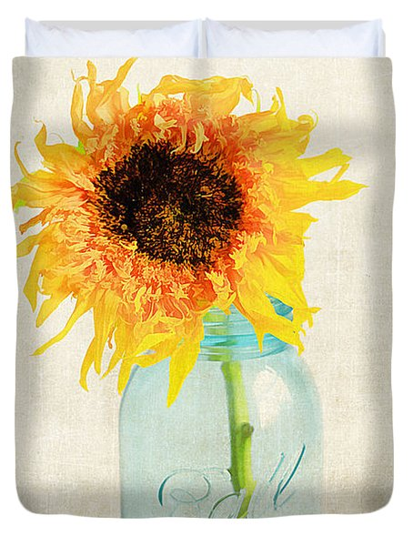 For My Friend Duvet Cover by Darren Fisher