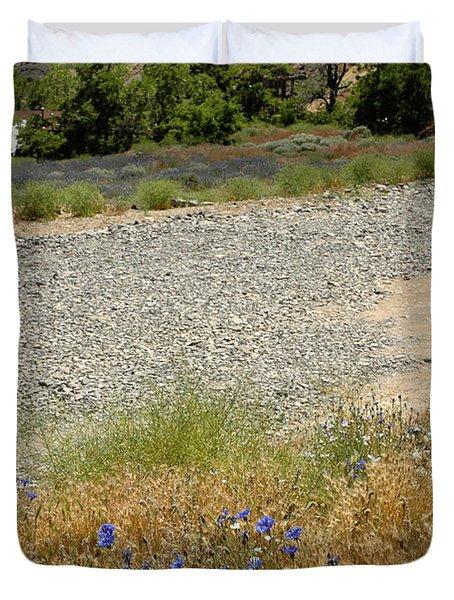 For Purple Mountain Majesties Duvet Cover by LeeAnn McLaneGoetz McLaneGoetzStudioLLCcom