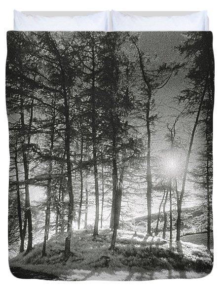 Forelacka Burial Ground Duvet Cover by Simon Marsden