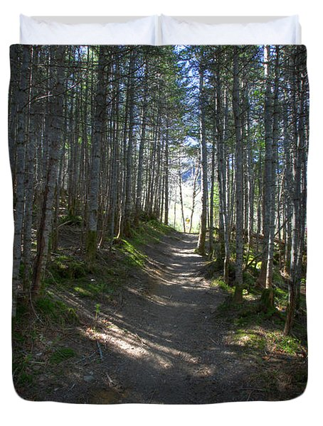 Forest Trail, Gros Morne National Park Duvet Cover