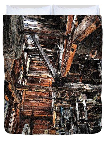 Forgotten Mill Duvet Cover