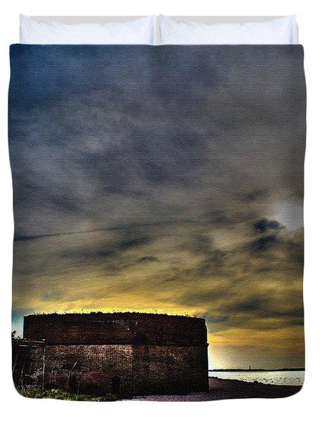 Fort Clinch Duvet Cover