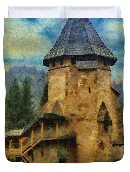 Fortified Faith Duvet Cover by Jeff Kolker