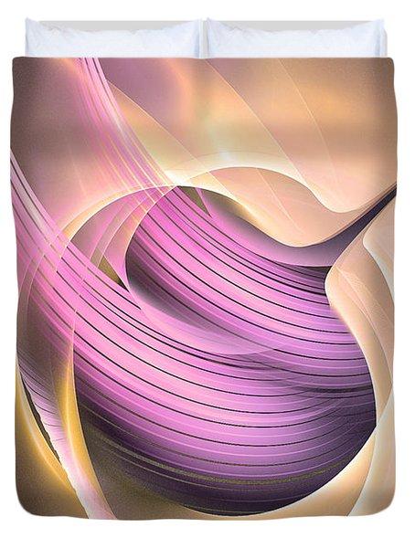 Aeternitas - Abstract Art Duvet Cover