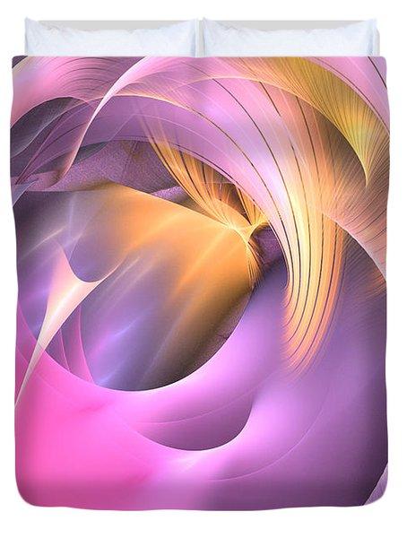 Cornu Copiae - Abstract Art Duvet Cover