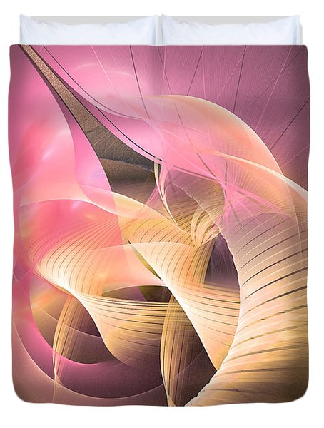 Perpetuum Mobile - Abstract Art Duvet Cover
