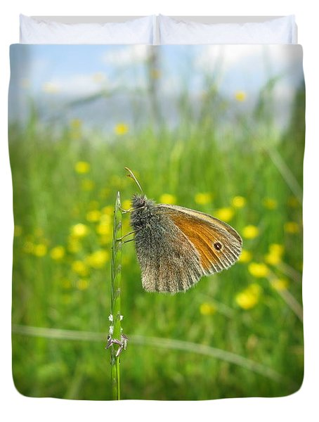 Duvet Cover featuring the photograph Fragile Beauty #02 by Ausra Huntington nee Paulauskaite