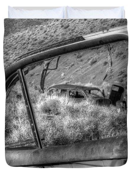 Framed Duvet Cover by Bob Christopher