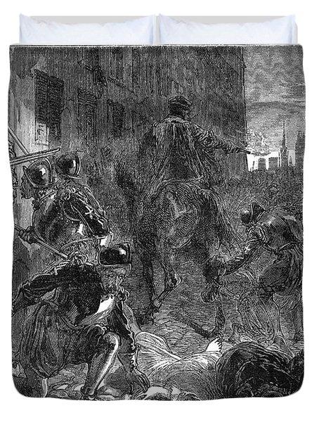 France: Massacre, 1572 Duvet Cover by Granger