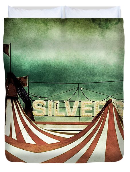 Freak Show Duvet Cover by Andrew Paranavitana