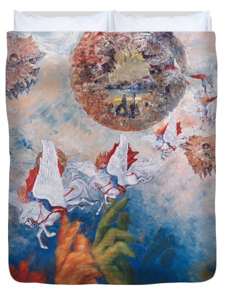 Freedom - The Beginning Of All Being Duvet Cover