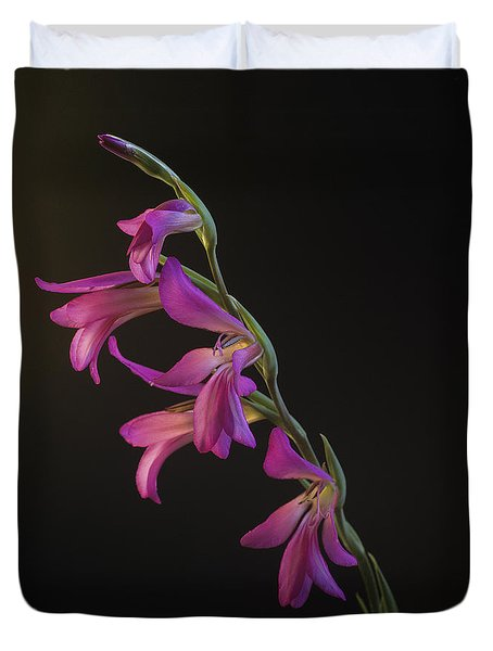 Freesia In The Spotlight Duvet Cover