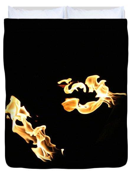 Freeze Fire 2 Duvet Cover
