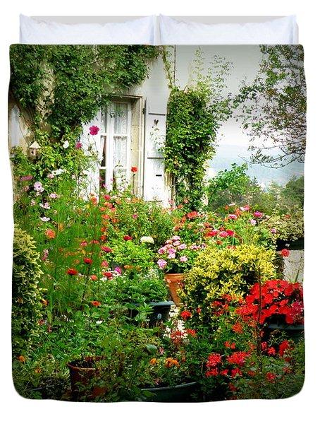 French Cottage Garden Duvet Cover