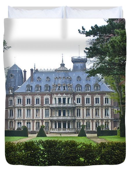French Country Mansion Duvet Cover
