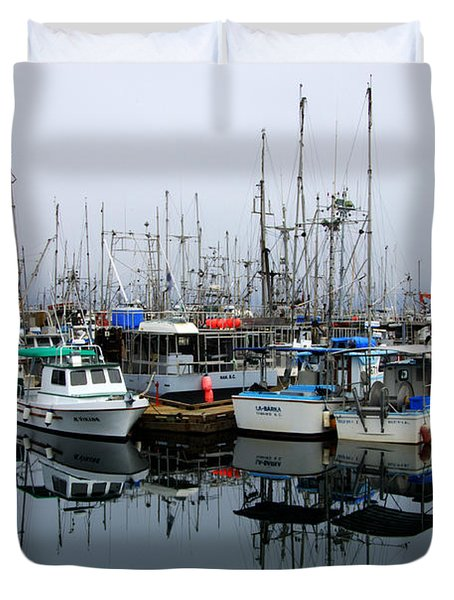 French Creek  Duvet Cover by Bob Christopher
