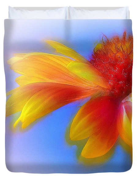 Fresh As A Daisy Duvet Cover by Judi Bagwell