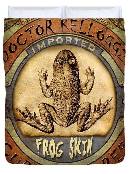 Frog Skin Duvet Cover