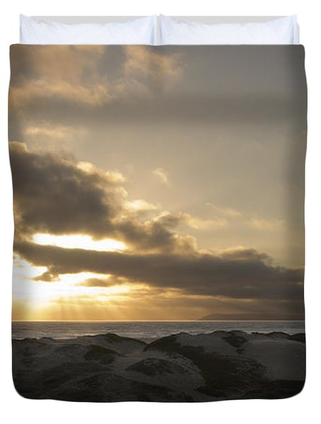 From Above Duvet Cover by Heidi Smith