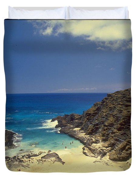 From Here To Eternity Beach Duvet Cover