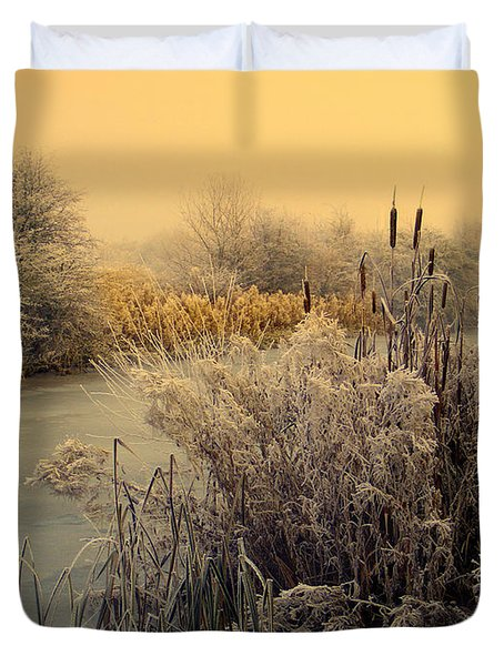Frost Duvet Cover by Linsey Williams