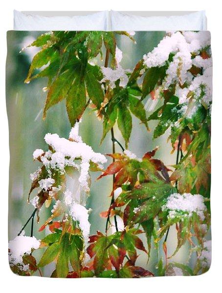 Frozen Too Soon Duvet Cover