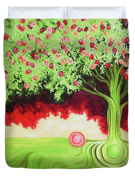 Fruit Tree Duvet Cover