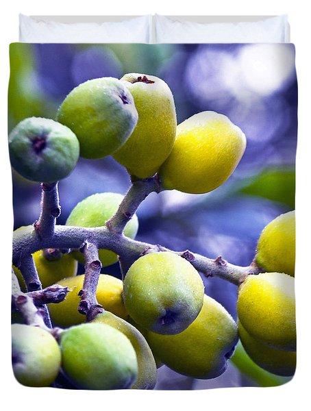 Sicilian Fruits Duvet Cover