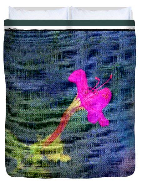 Fuchsia Flower Duvet Cover by Judi Bagwell