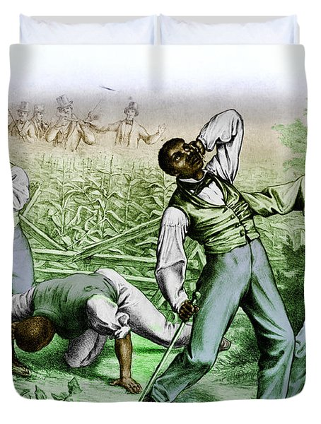 Fugitive Slave Law Duvet Cover by Photo Researchers